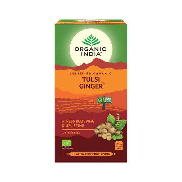 Tulsi Zazvor ajurvedsky caj Organic India