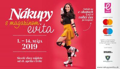 Nakupy Evita 2019