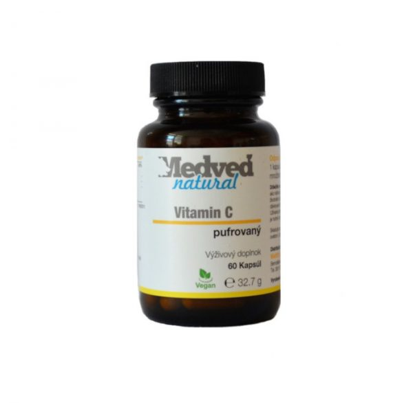 Vitamin C pufrovany Medved natural
