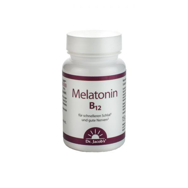 Melatonin s vitaminom B12 Dr. Jacobs