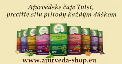 Ajurvédske čaje Tulsi Organic India