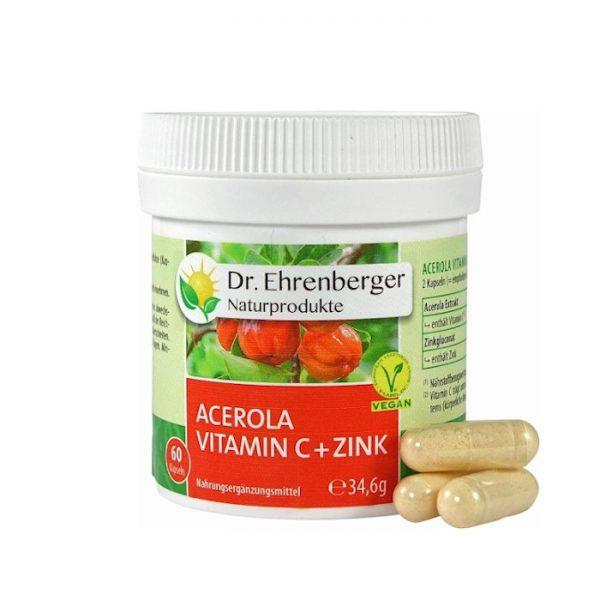 Prírodný vitamín C + zinok