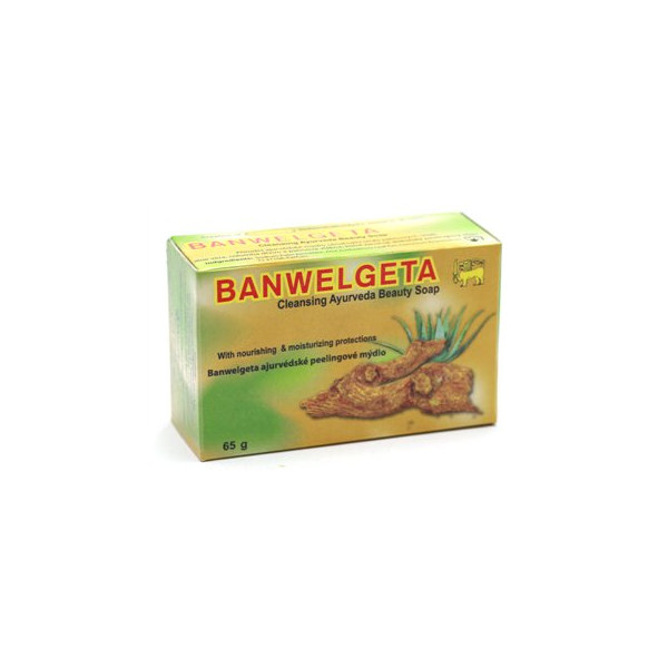Banwelgeta ajurvedske peelingove mydlo