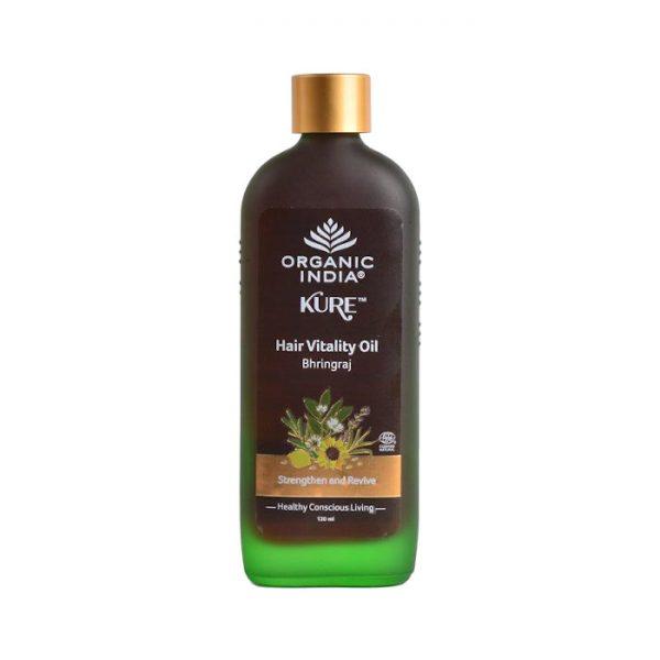Bhringaraj vlasovy olej Organic India