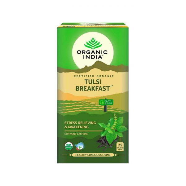 Tulsi Breakfast ajurvedsky caj porciovany Organic India