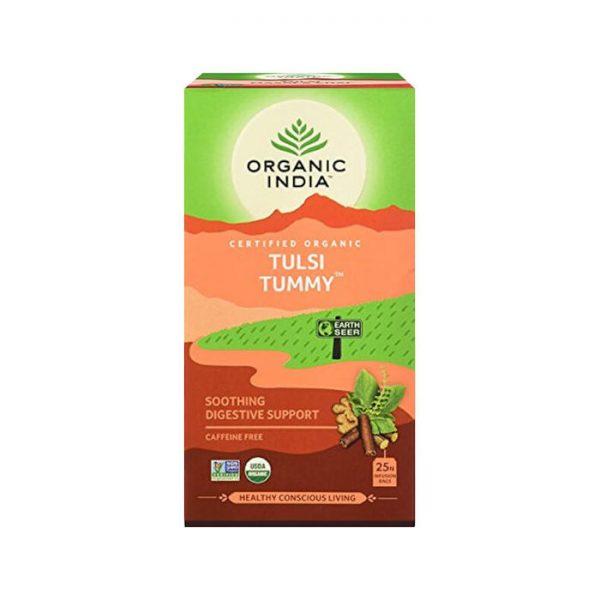Tulsi Tummy ajurvedsky caj na travenie Organic India