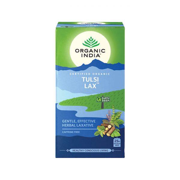 Tulsi Lax ajurvedsky caj na zapchu Organic India