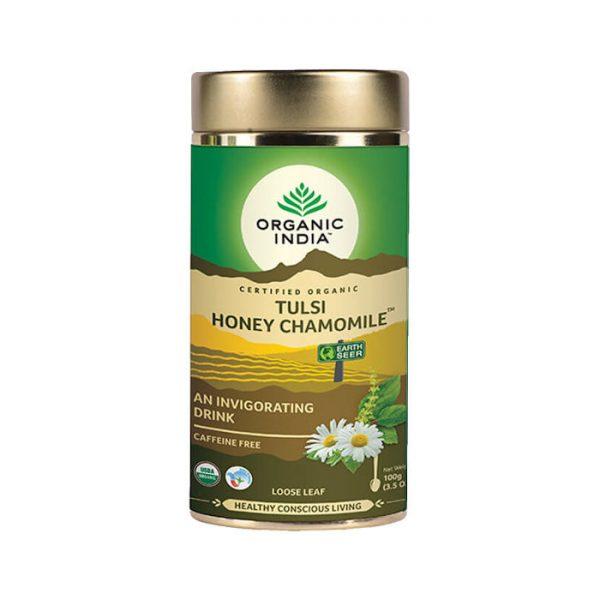 Tulsi Med Harmacek ajurvedsky caj Organic India 100g