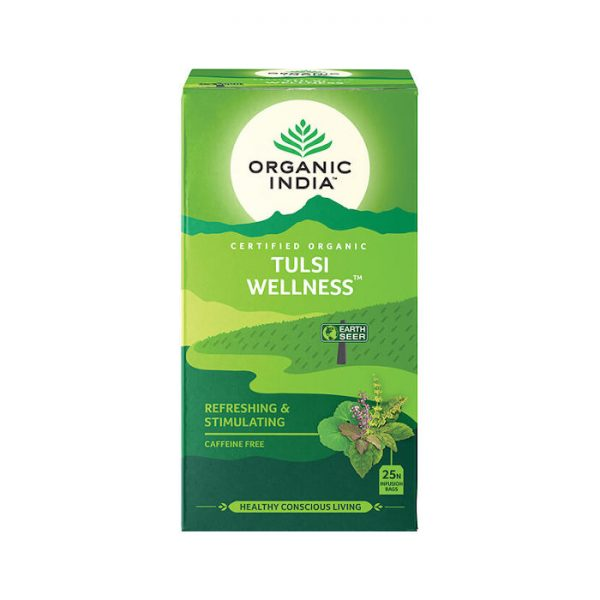 Tulsi Wellness ajurvedsky caj porciovany Organic India